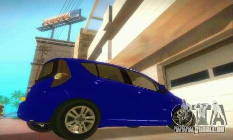 Vauxhall Agila 2011 pour GTA San Andreas vue de droite