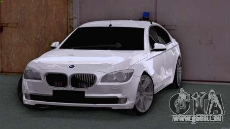 BMW 750i FSB pour GTA San Andreas laissé vue