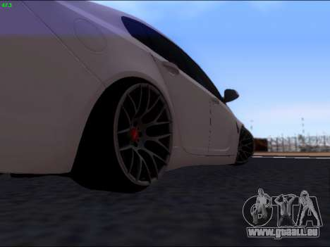 Opel Insignia pour GTA San Andreas vue de droite