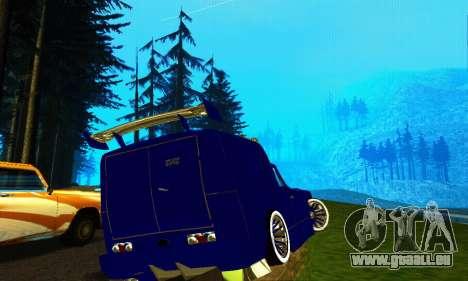 IZH 2715 Novosib-Tuning für GTA San Andreas zurück linke Ansicht