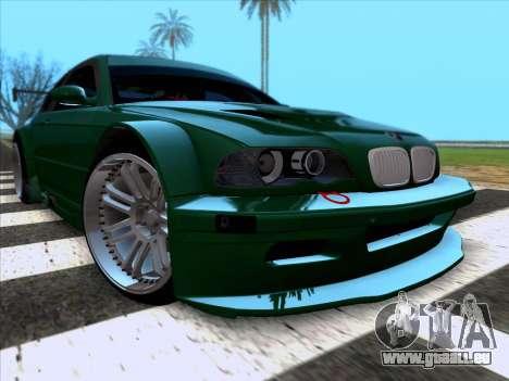 BMW M3 E46 GTR pour GTA San Andreas