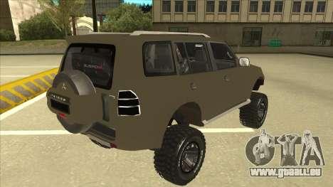 Mitsubishi Montero EDVARD [ERICK] pour GTA San Andreas vue de droite
