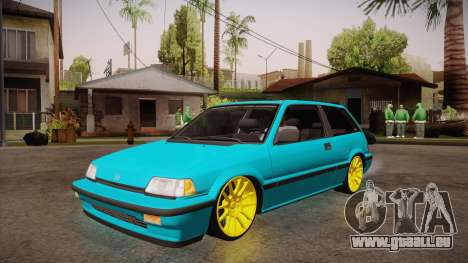 Honda Civic SI Hellaflush pour GTA San Andreas