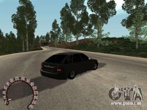VAZ-2172 für GTA San Andreas rechten Ansicht