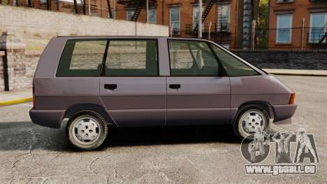 Renault Espace I 2000 TSE pour GTA 4 est une gauche