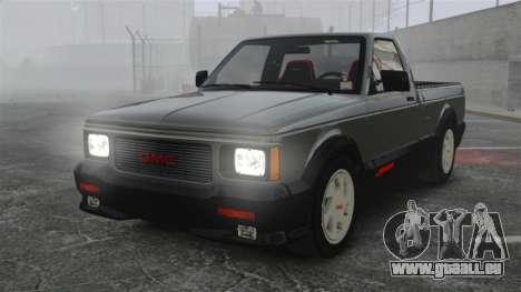 GMC Syclone 1992 pour GTA 4