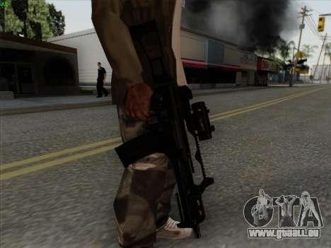 HK-G36C pour GTA San Andreas quatrième écran
