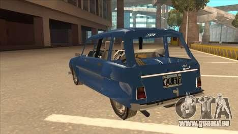 Citroën Ami 8 pour GTA San Andreas vue arrière