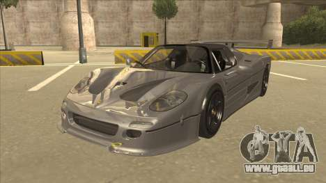 Ferrari F50 GT TT Black Revel für GTA San Andreas