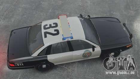 Une voiture de Police GTA V pour GTA 4 est un droit