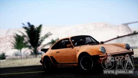 Porsche 911 Turbo 3.3 Coupe 1982 für GTA San Andreas linke Ansicht