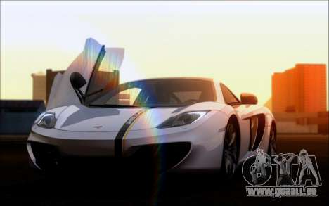Mclaren MP4-12C pour GTA San Andreas