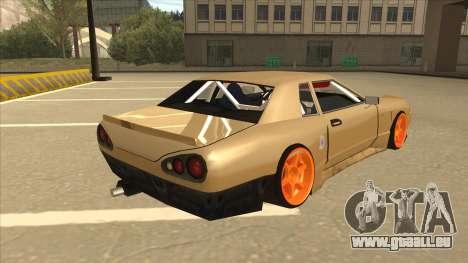 Elegy K22 King Swap für GTA San Andreas rechten Ansicht