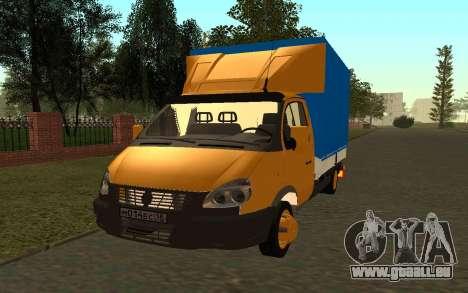 Business 33022 gazelle pour GTA San Andreas