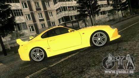 Toyota Supra TRD für GTA Vice City Rückansicht