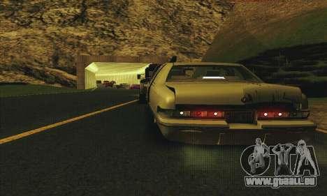Buick Roadmaster cassé pour GTA San Andreas vue intérieure