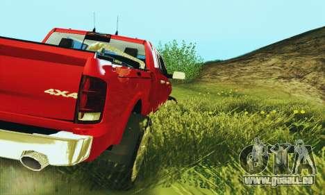 Dodge Ram 2500 HD für GTA San Andreas rechten Ansicht