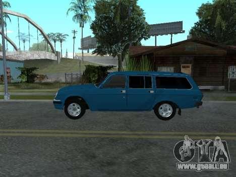 GAZ 311052 pour GTA San Andreas sur la vue arrière gauche