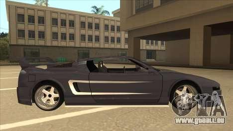 DoTeX Infernus V6 History pour GTA San Andreas sur la vue arrière gauche