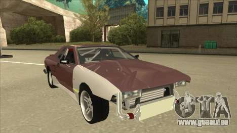 Elegy Drift Missile pour GTA San Andreas laissé vue