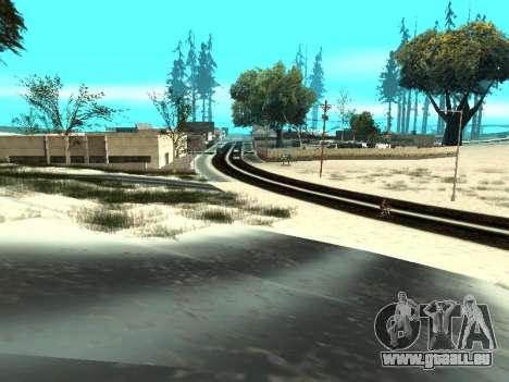 Hiver v1 pour GTA San Andreas onzième écran