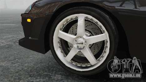 Toyota Supra für GTA 4 Rückansicht