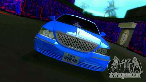 Lincoln Town Car Tuning für GTA Vice City linke Ansicht