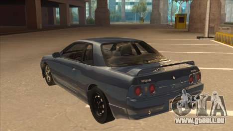 Nissan Skyline GT-S32 Drifter Edition pour GTA San Andreas vue arrière