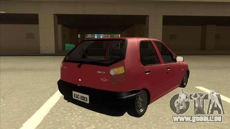 1997 Fiat Palio EDX Edit für GTA San Andreas rechten Ansicht