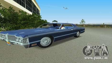 Mercury Monterey 1972 pour une vue GTA Vice City de la gauche