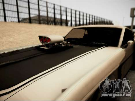 Ford Mustang Boss 302 1969 für GTA San Andreas Rückansicht