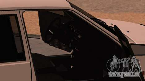 ВАЗ 2114 für GTA San Andreas obere Ansicht