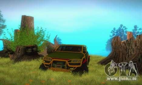 UAZ Patriot camionnette pour GTA San Andreas vue de côté