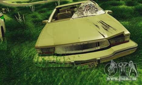 Buick Roadmaster cassé pour GTA San Andreas laissé vue