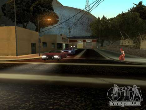 Hiver v1 pour GTA San Andreas sixième écran