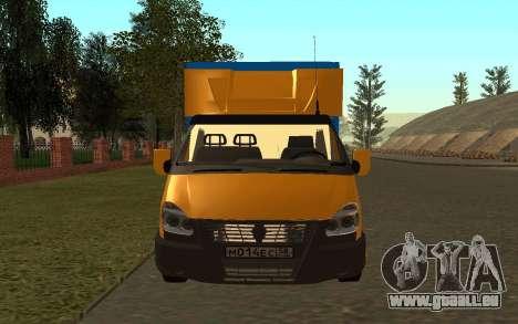 Business 33022 gazelle pour GTA San Andreas vue de droite
