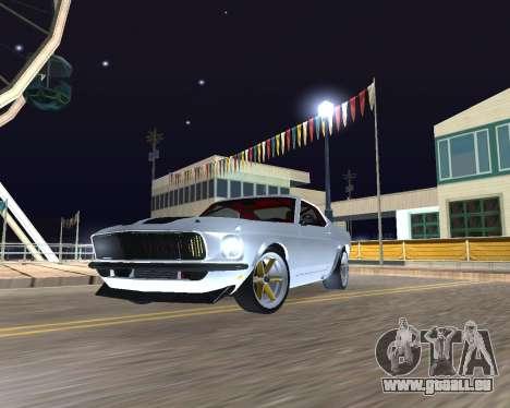 Ford Mustang Anvil pour GTA San Andreas laissé vue
