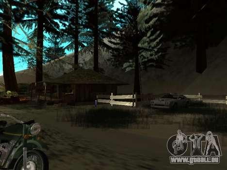 Hiver v1 pour GTA San Andreas neuvième écran