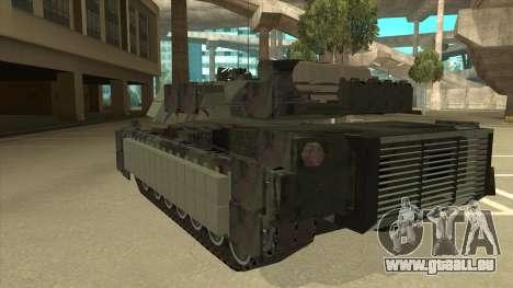 M69A2 Rhino Bosque für GTA San Andreas Rückansicht