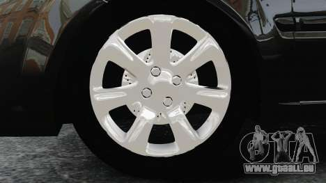 Kia Rio 2009 pour GTA 4 Vue arrière