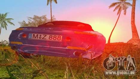 BMW Z8 pour une vue GTA Vice City d'en haut