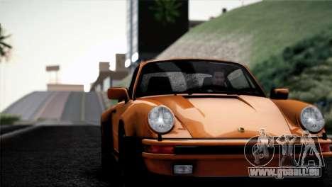 Porsche 911 Turbo 3.3 Coupe 1982 pour GTA San Andreas vue intérieure