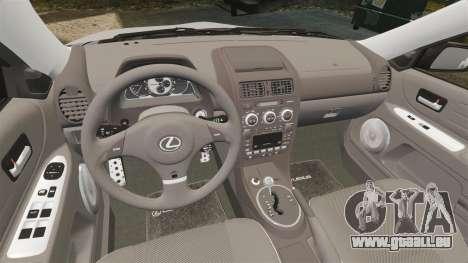 Lexus IS300 für GTA 4 Seitenansicht