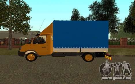 Business 33022 gazelle pour GTA San Andreas laissé vue
