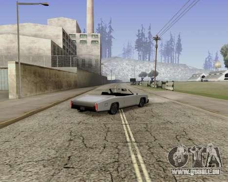 Buccaneer (beta) pour GTA San Andreas laissé vue