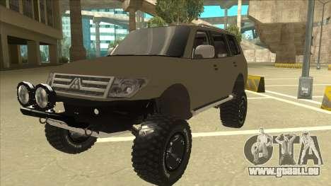 Mitsubishi Montero EDVARD [ERICK] pour GTA San Andreas