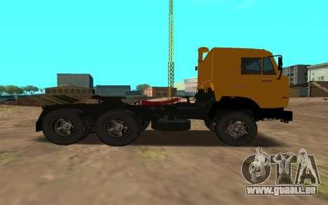 KAMAZ 54115 für GTA San Andreas linke Ansicht