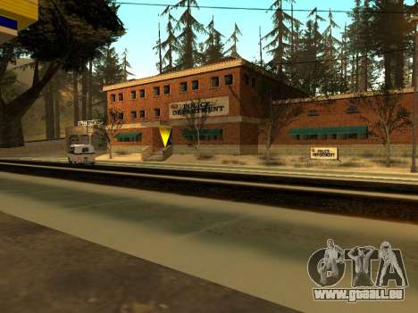 Hiver v1 pour GTA San Andreas septième écran