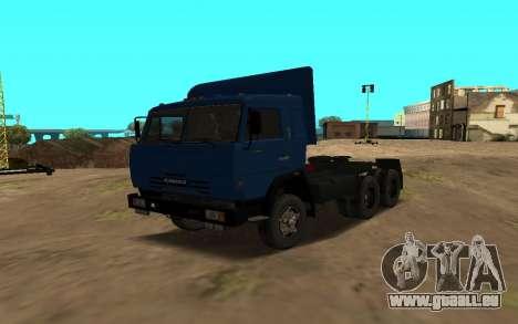 KAMAZ 54115 pour GTA San Andreas vue de côté