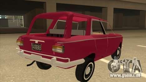 Fiat 1500 Familiar pour GTA San Andreas vue de droite